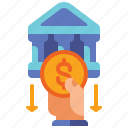 atm, banking, money, withdrawal icon