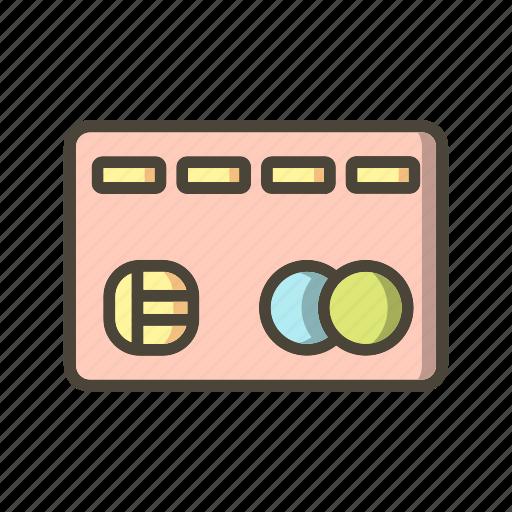 banking, credit card, debit card icon