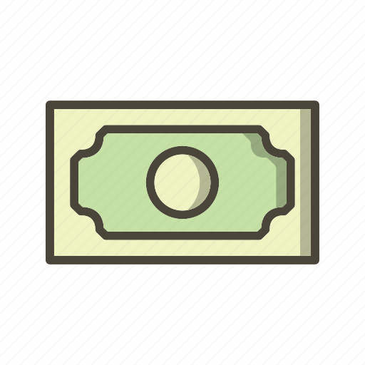 bank note, banking, cash icon