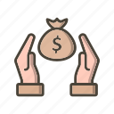 discount, save money, saving, savings icon
