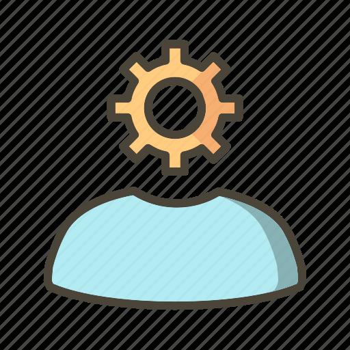 admin, administration, banking, profile, user icon