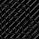 financial, plan, business, checklist, coin, finance, money