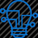 bulb, idea, innovation, lamp, networking, smart, solutions