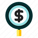financial, fund, hunting, money icon
