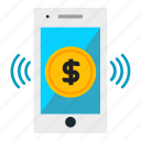 banking, dollar, ecommerce, online icon