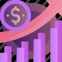 growth, chart, coin, finance, money, profit, report