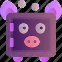 bank, piggy, banking, box, finance, safe, saving