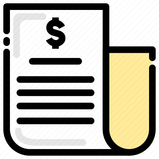 balance sheet, bank account, bank statement, banking, document, finance, transaction icon