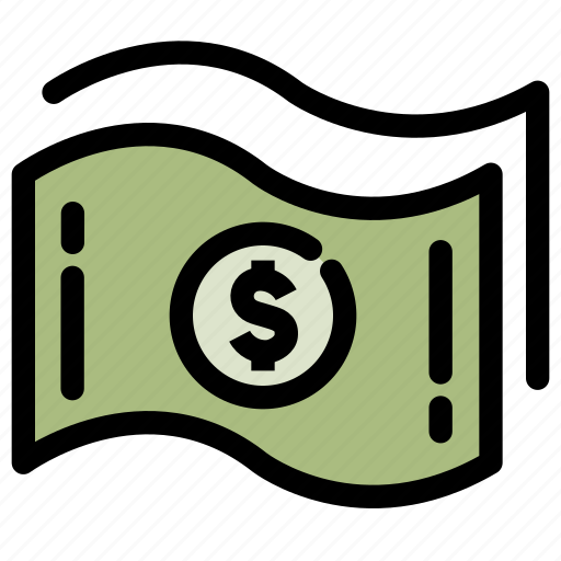 banking, cash, finance, fund, money, payment icon