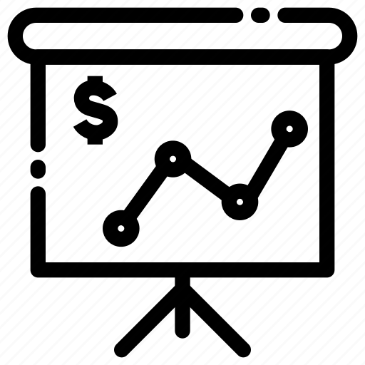 diagram, graphic, rates exchange, report, statistic icon