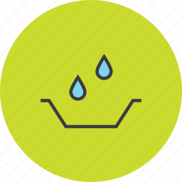 banking, collect, drops, finance, guardar, save, savings, water icon