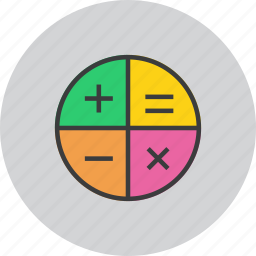 add, app, banking, calculator, education, finance, math icon