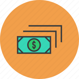banking, business, cash, currency, dollar, finance, money icon