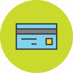 banking, card, credit, debit, finance, shopping, swipe icon