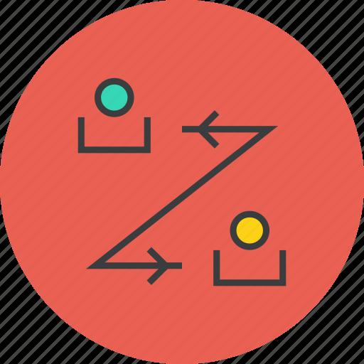 account, banking, communication, exchange, finance, transaction, transfer icon