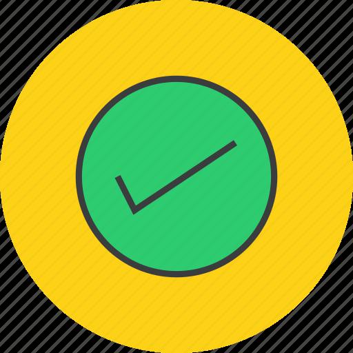 accept, check mark, ok, okay, select, tick, yes icon