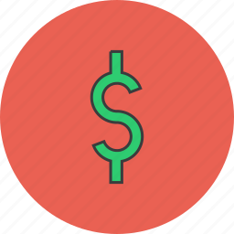 business, currency, dollar, finance, forex, trade, us icon