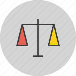 balance, business, equal, equality, justice, measure, trade icon