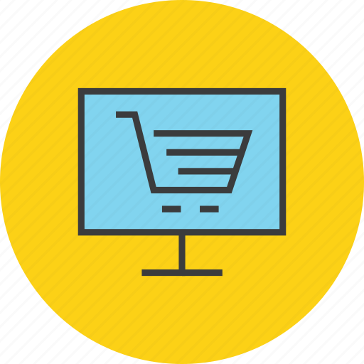 business, cart, electronic, finance, online, shopping, trade icon