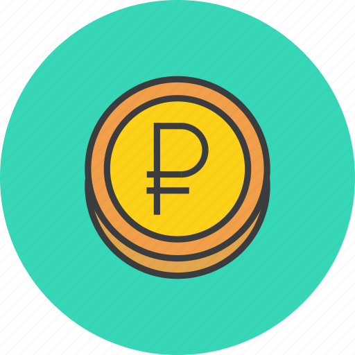 business, coin, finance, forex, ruble, sterling, trade icon