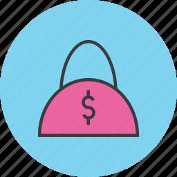 bag, balance, buy, cash, ecommerce, handbag, shopping icon