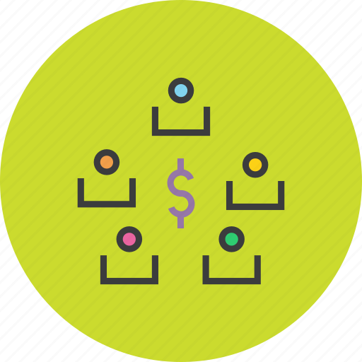 business, dollar, exchange, funds, stakeholders, transaction, transfer icon