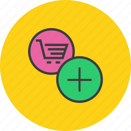 add, add to cart, cart, ecommerce, finance, item, shopping icon