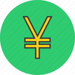 business, currency, ecommerce, finance, forex, trade, yen icon
