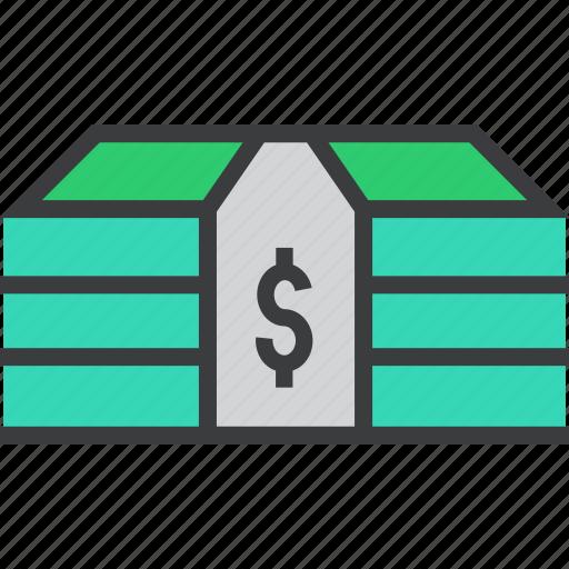 banking, bundle, business, cash, dollar, finance, money icon