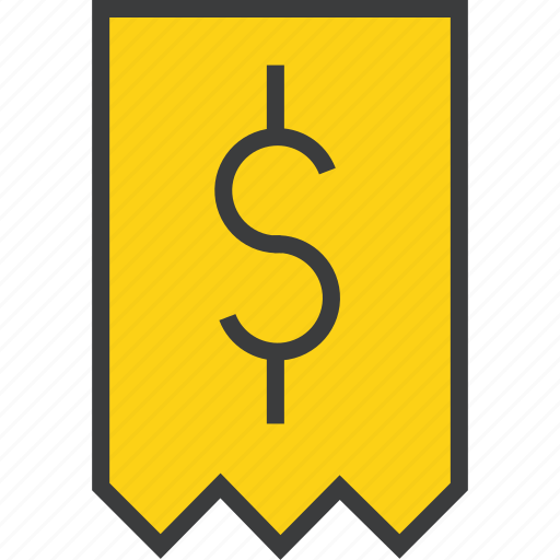 bill, business, cost, dollar, finance, invoice, receipt icon