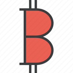 bitcoin, currency, digital, ecommerce, electronic, finance, online icon