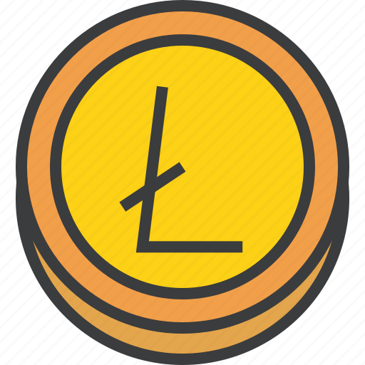 currency, digital, ecommerce, electronic, finance, litecoin, online icon