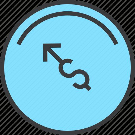 balance, banking, dashboard, dollar, finance, indicator, money icon