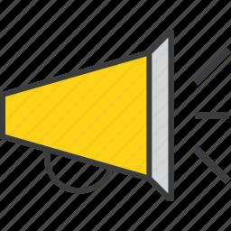 annoucement, campaign, loud, marketing, megaphone, promotion, sales icon
