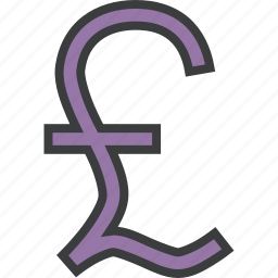 british, business, finance, forex, pound, sterling, trade icon