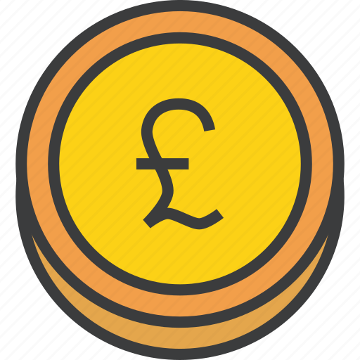 business, coin, finance, forex, pound, sterling, trade icon