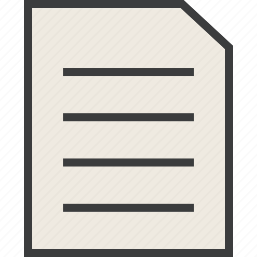 details, document, file, report, statement, summary, text icon