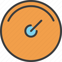 account, balance, dashboard, guage, increase, indicator, speedometer icon