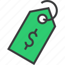 currency, dollar, ecommerce, price, sale, shopping, tag icon