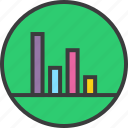 analysis, data visualization, graph, presentation, report, sales, statistics icon