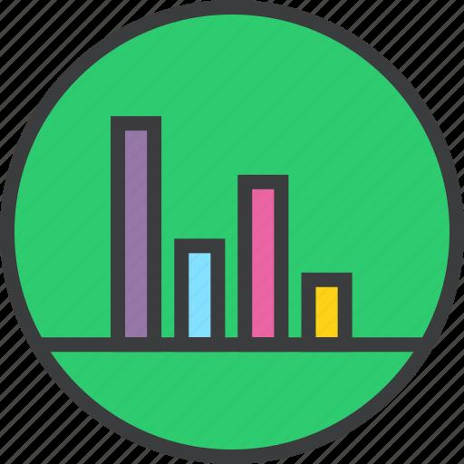 analysis, data visualization, graph, presentation, report, sales, statistics icon