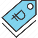 currency, ecommerce, price, ruble, sale, shopping, tag icon
