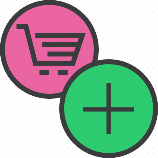 add, add to cart, basket, cart, finance, item, shopping icon