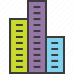 building, company, corporate, financial, institution, multinational, office icon