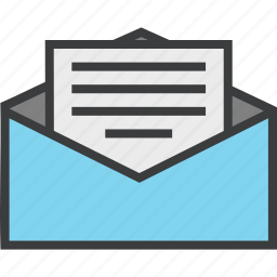 bill, email, envelope, invite, letter, mail, message icon