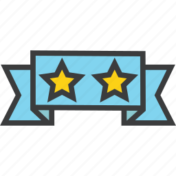banner, deal, exclusive, premium, quality, rating, star icon