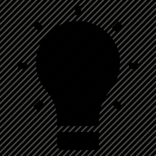 bulb, business, creative, idea, innovation, light, thinking icon