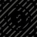 aim, arrow, bullseye, focus, goal, target, targetmarket icon
