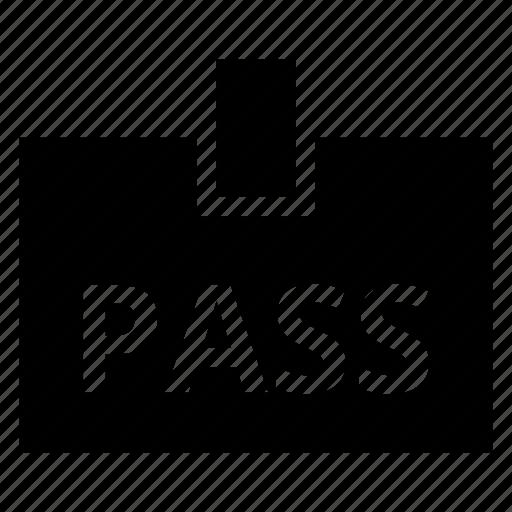 badge, card, employee, identification, identity, pass icon