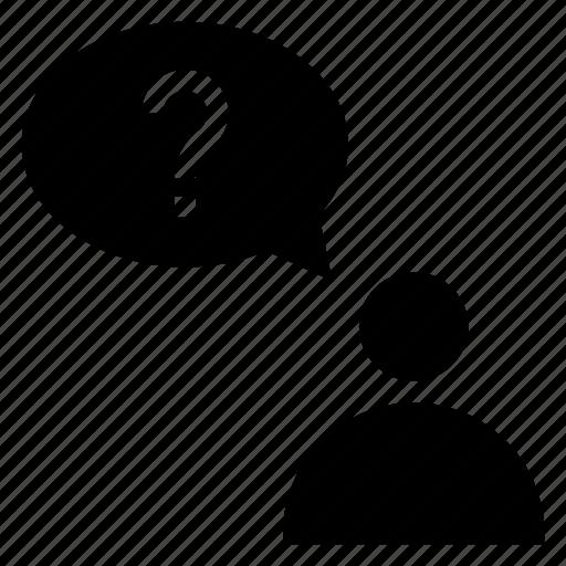 avatar, bubble, chat, message, person, profile, user icon